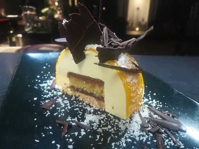 Le Bouchon du P'tit Pont - UNIQUEMENT Vente à Emporter du 11 novembre au 20 décembre 2020 La Bûche Passion/Chocolat/Coco